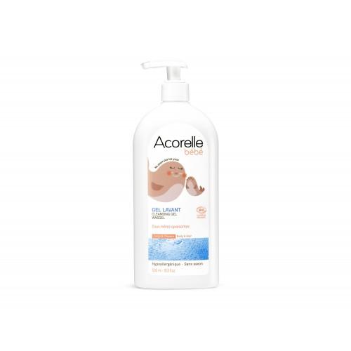 champu gel relajante bebe acorelle 500 ml