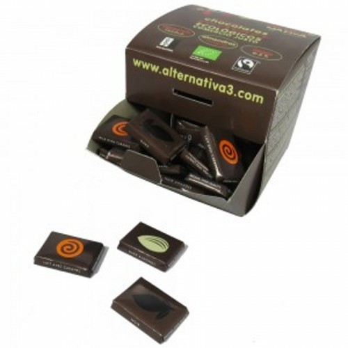mini chocolate alternativa 3 45x55 gr bio