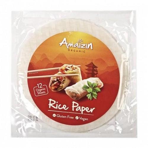hoja arroz amaizin 110 gr bio
