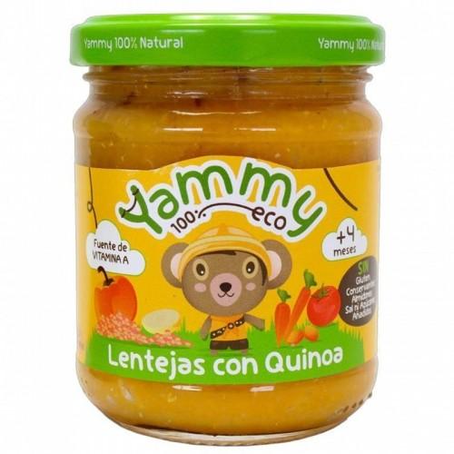 potito lentejas quinoa yammy 195 gr bio
