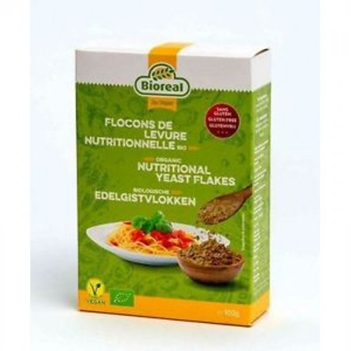 levadura nutricional copos sin gluten bioreal 100 gr