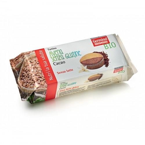 bizcocho avena cacao sin gluten germinal 180 gr bio