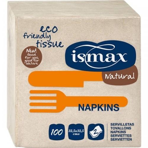 servilleta papel 325x325 ismax 100 unidades