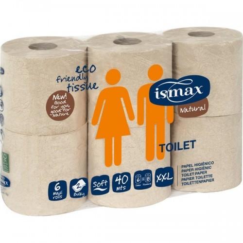 papel higienico doble capa ismax 6 rollos