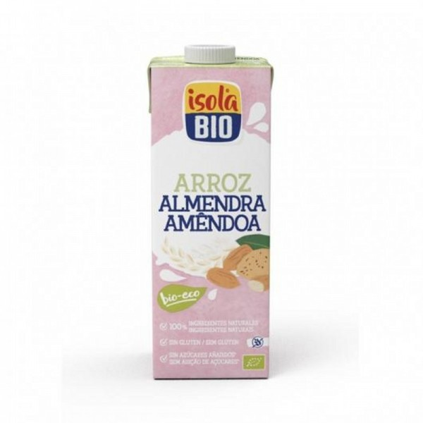 bebida arroz almendra isola 1 l bio