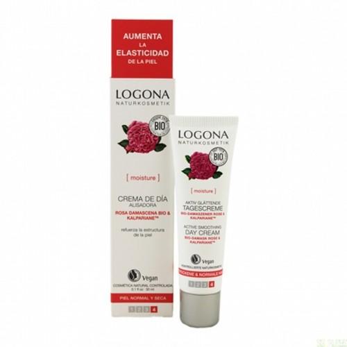 crema dia hidratante rosas logona 30 ml