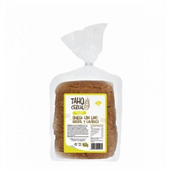 pan molde omega 3 6 lino girasol calabaza taho 400 gr bio