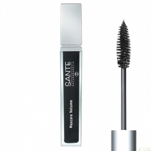 mascara pestañas volumen 01 black sante