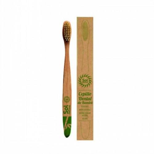 cepillo bambu niños sol natural