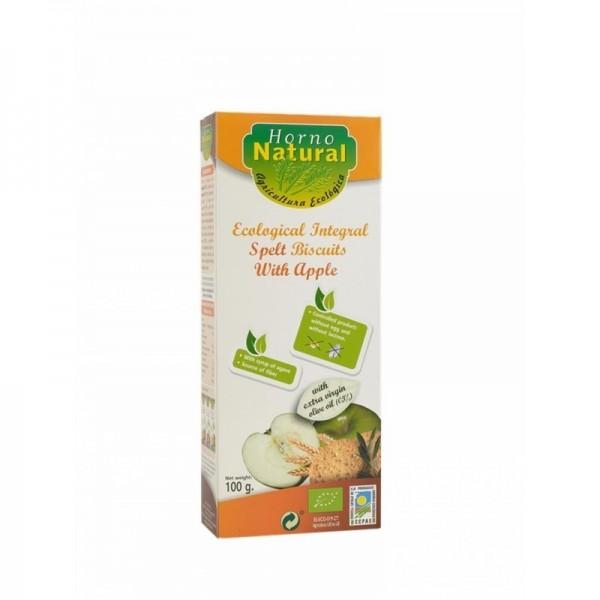 galletas espelta manzana horno natural 100 gr bio