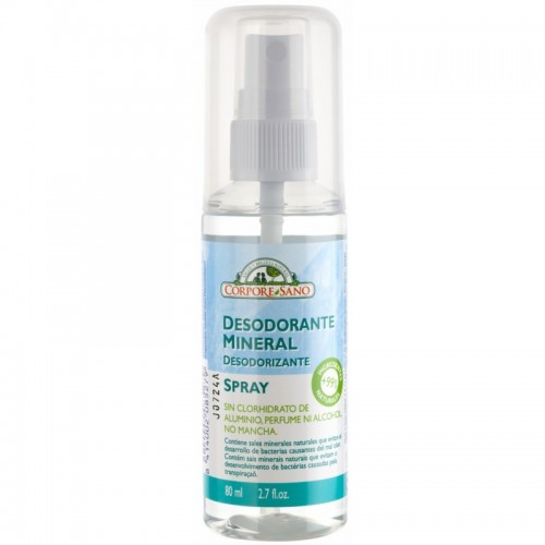 Desodorante mineral spray...