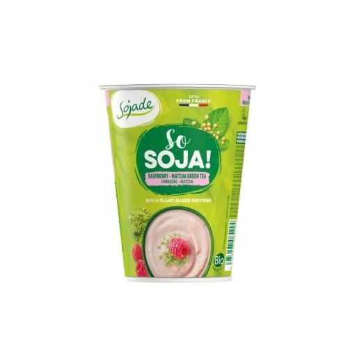 Yogur soja frambuesa pasion...