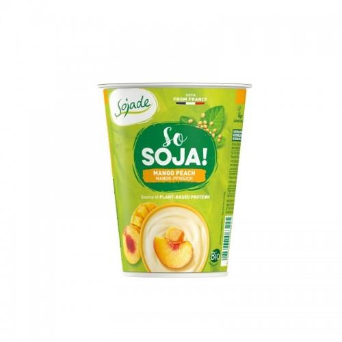 Yogur soja melocoton mango...
