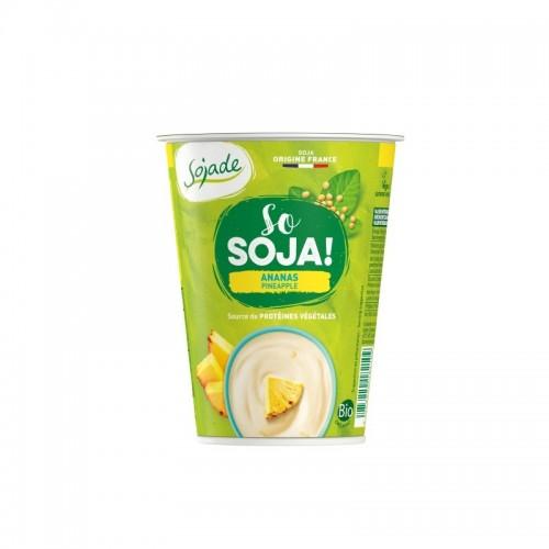 Yogur soja piña SOJADE 400...