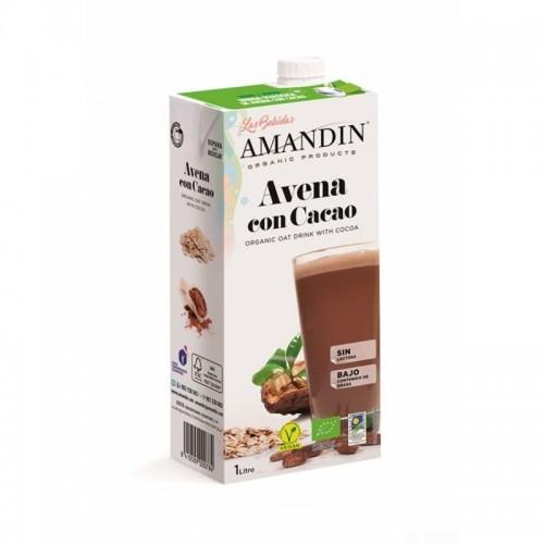 Bebida avena cacao AMANDIN 1 L