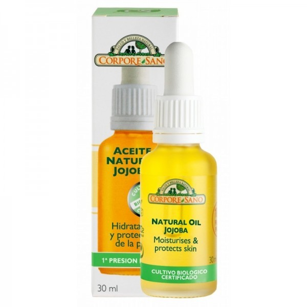 aceite natural jojoba corpore sano 30 ml