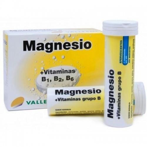 Magnesio y vitamina B...