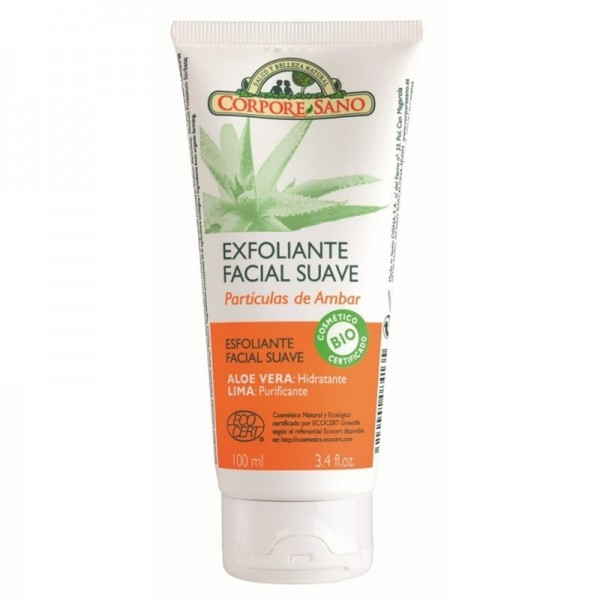 exfoliante facial suave corpore sano 100 ml