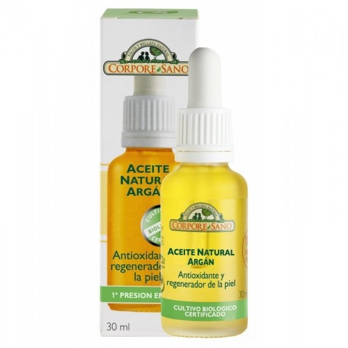aceite natural argan corpore sano 30 ml