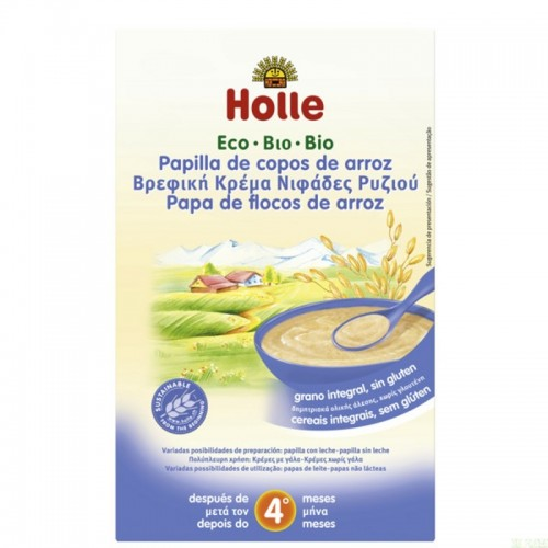 Papilla copos arroz HOLLE...