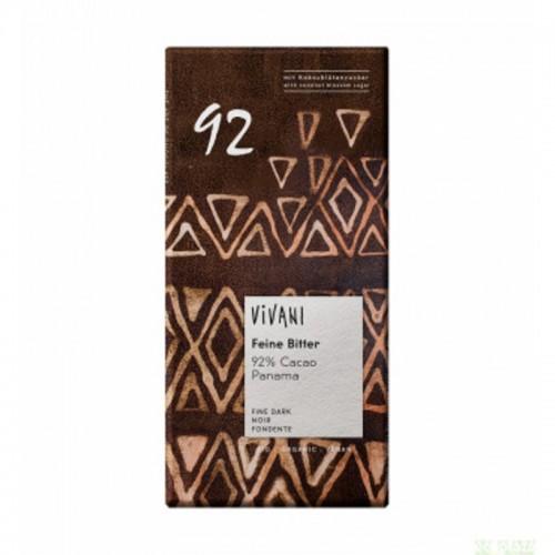 Chocolate negro 92 % VIVANI...