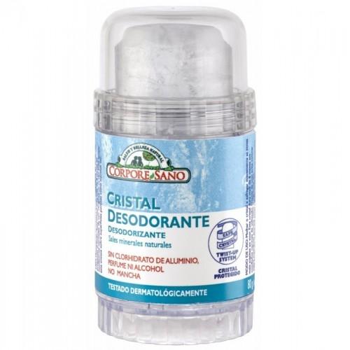 desodorante mineral cristal corpore sano 80 gr