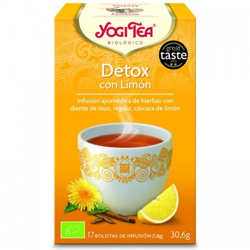 Yogi tea infusion purifica...