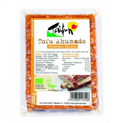 Tofu ahumado almendra...