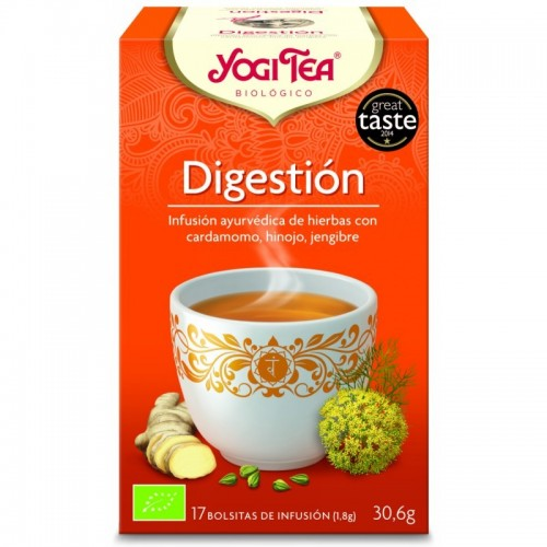 Yogi tea infusion digestion...