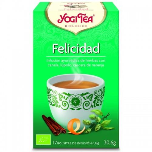 Yogi tea infusion felicidad...