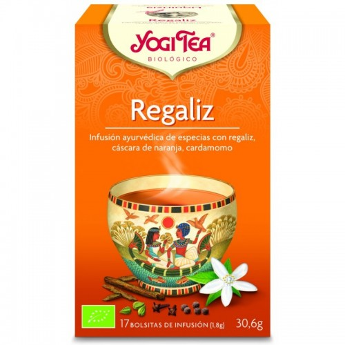 Yogi tea infusion regaliz...