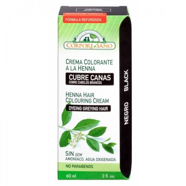 crema colorante negro corpore sano 60 ml