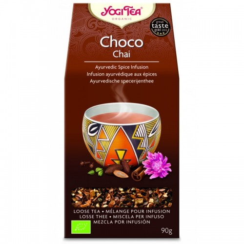 Yogi tea choco chai 90 gr BIO