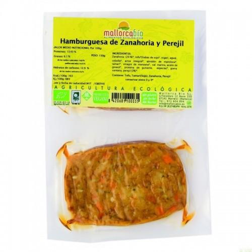 Hamburguesa zanahoria...