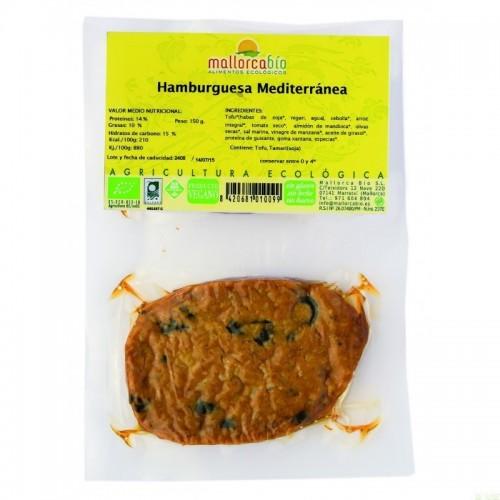 Hamburguesa mediterranea...