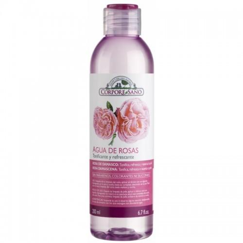 agua rosas damascena corpore sano 200 ml