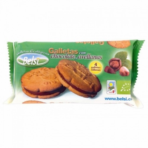 Galleta rellena chocolate...