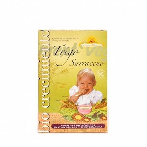 papilla trigo sarraceno aliment vegetal 400 gr bio