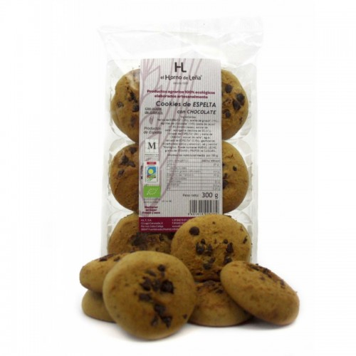 Cookies espelta choco...