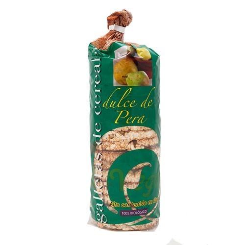 tortitas arroz pera aliment vegetal 250 gr bio