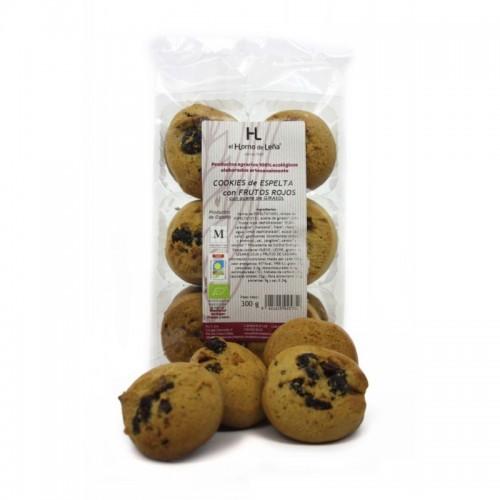 Cookies espelta frutos...