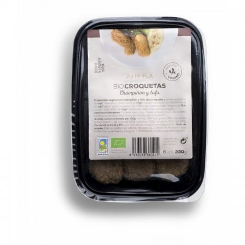 Croquetas tofu champiñon...