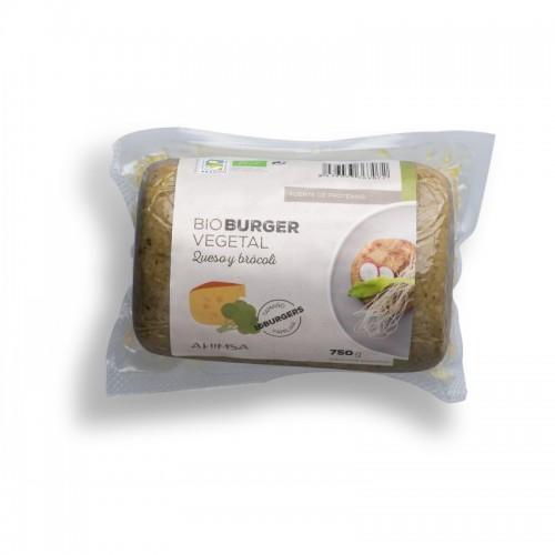 Hamburguesa queso brocoli...