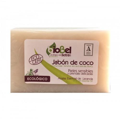 jabon coco pastilla biobel 240 gr