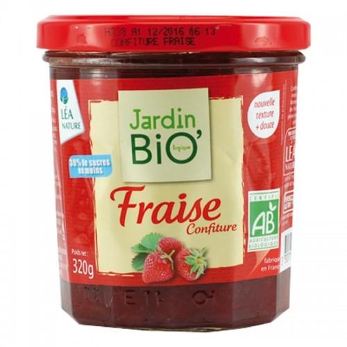 Mermelada fresa JARDIN BIO...