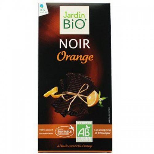Chocolate negro con naranja...