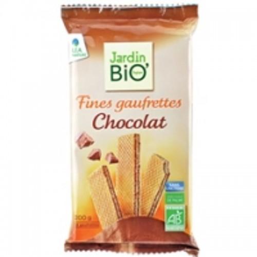 Barquillos chocolate JARDIN...
