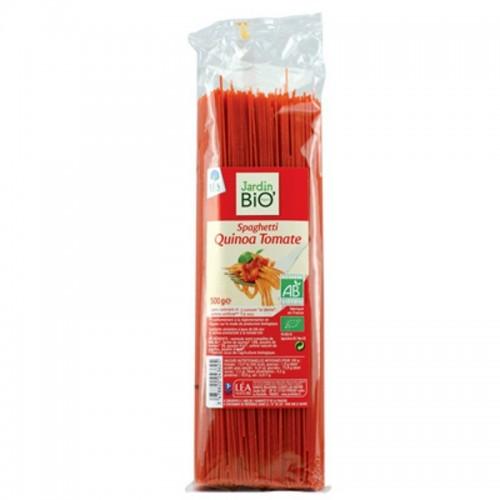 Espagueti quinoa tomate...