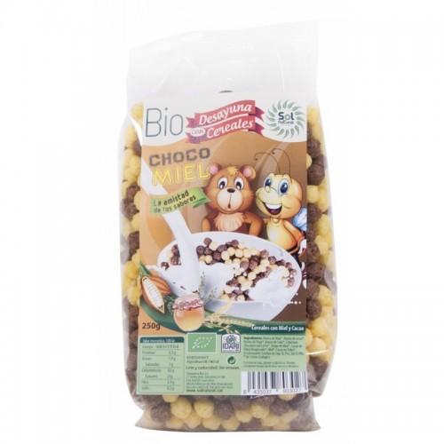 Cereales bolitas choco miel...