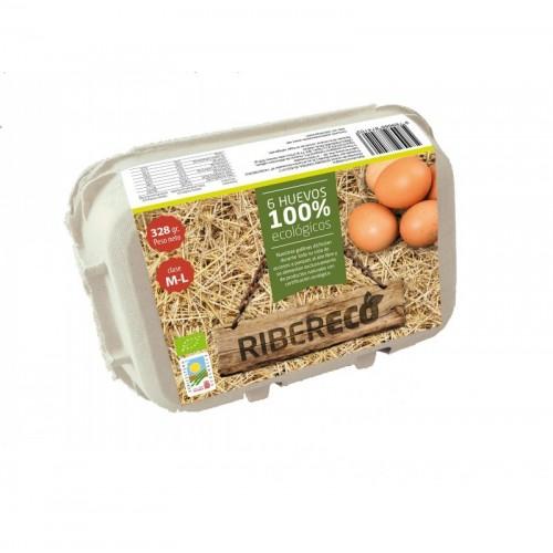 Huevos (6 ud) RIBERECO ECO